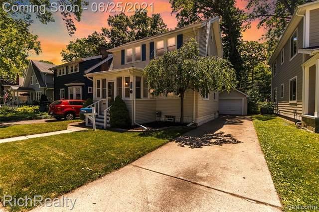 506 Gardenia Avenue, Royal Oak, MI 48067 (#2210047080) :: The BK Agency