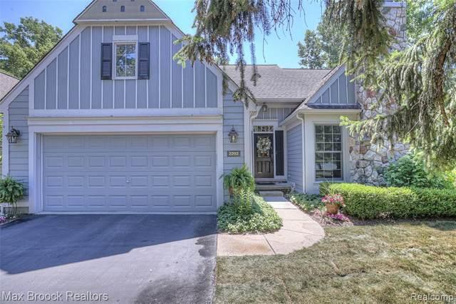 2292 Sudbury Way, Bloomfield Twp, MI 48304 (#2210047207) :: Duneske Real Estate Advisors