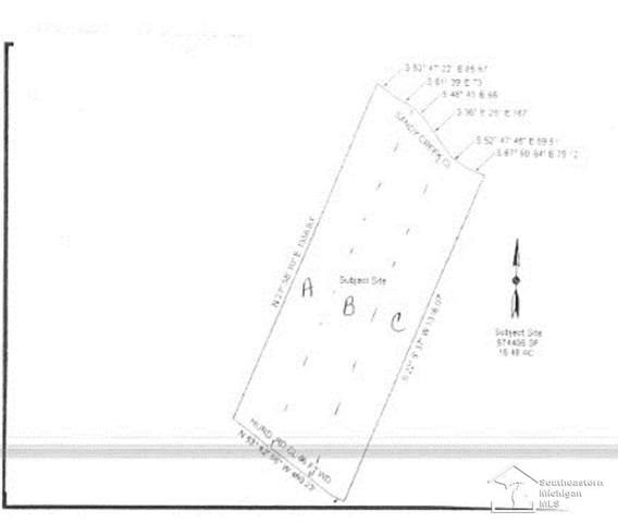0 Hurd, Frenchtown Twp, MI 48162 (#57050045571) :: Alan Brown Group
