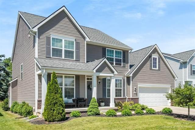 8493 Parkridge Drive, Dexter, MI 48130 (#543281860) :: Duneske Real Estate Advisors