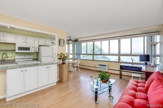8900 Jefferson Avenue #718, Detroit, MI 48214 (#2210047521) :: Real Estate For A CAUSE