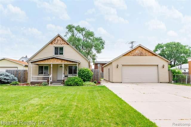 3399 14TH Street, Wyandotte, MI 48192 (#2210047655) :: GK Real Estate Team