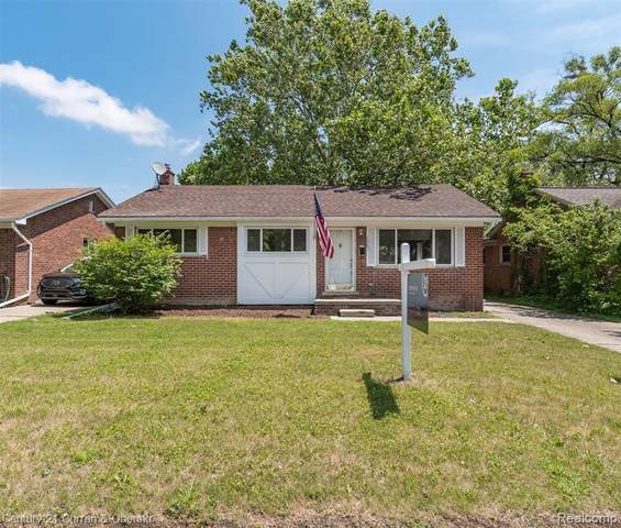 1487 S Gulley Road, Dearborn, MI 48124 (#2210047845) :: BestMichiganHouses.com