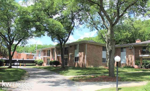 1237 Island Drive Unit 90, Bldg 7, Ann Arbor, MI 48105 (#58050045749) :: The BK Agency