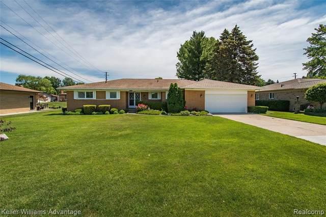 38128 Santa Anna Street, Clinton Twp, MI 48036 (#2210047959) :: GK Real Estate Team