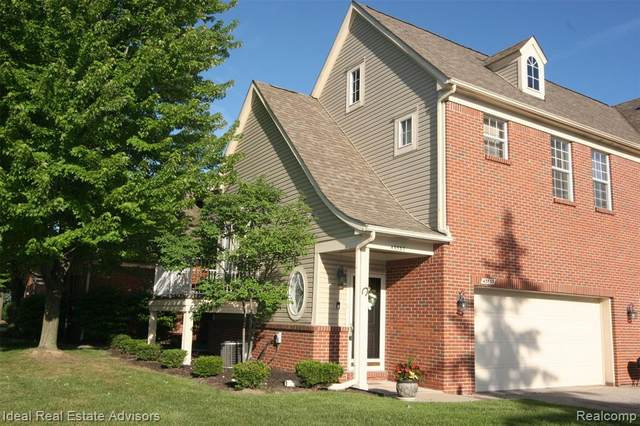 43537 Pendleton Circle, Sterling Heights, MI 48313 (#2210048690) :: Real Estate For A CAUSE