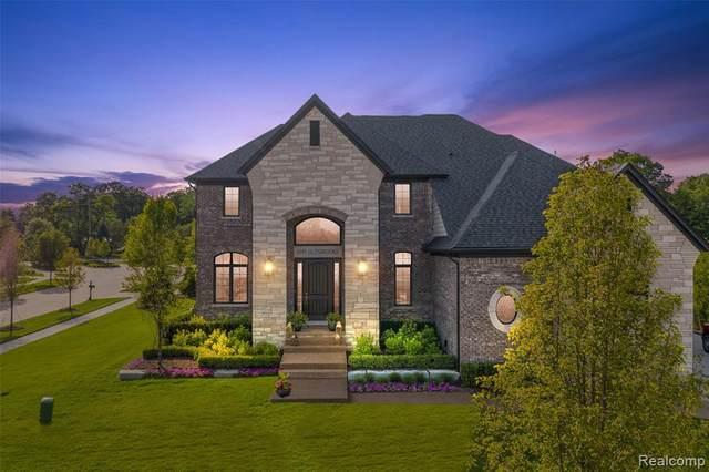 6095 Glenbrooke Drive, Shelby Twp, MI 48316 (#2210048880) :: GK Real Estate Team