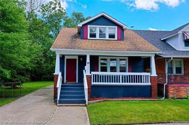 4401 10TH ST Street, Ecorse, MI 48229 (#2210048904) :: Duneske Real Estate Advisors