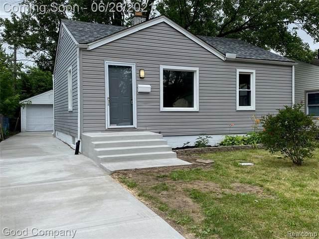 1466 E Milton Avenue, Hazel Park, MI 48030 (#2210049039) :: BestMichiganHouses.com