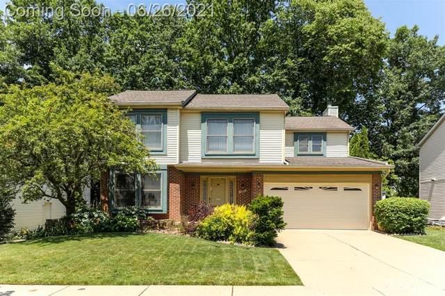 7957 Lake Crest Drive, Ypsilanti, MI 48197 (#543281992) :: GK Real Estate Team