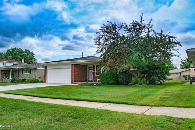 3446 Gordon Dr, Sterling Heights, MI 48310 (#58050046249) :: Duneske Real Estate Advisors