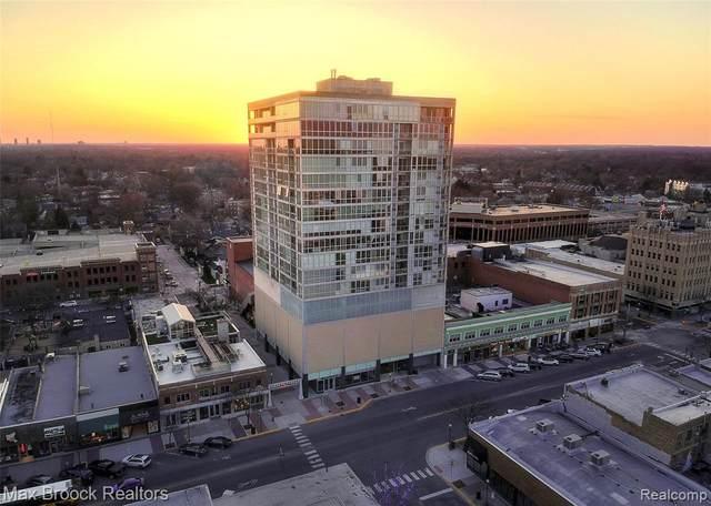 432 S Washington Unit 1007 Avenue, Royal Oak, MI 48067 (#2210051801) :: Real Estate For A CAUSE