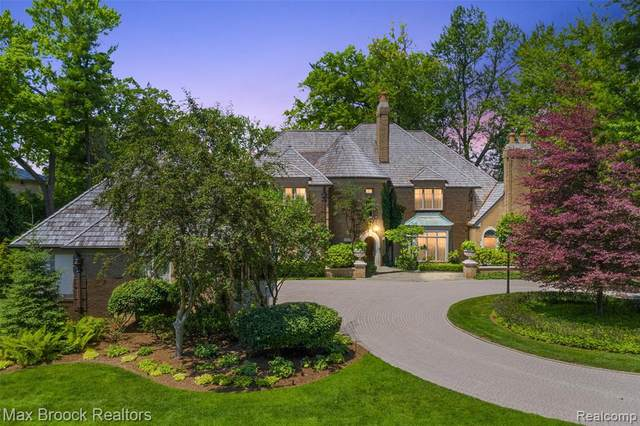 3424 Franklin Road, Bloomfield Twp, MI 48302 (#2210052162) :: The Alex Nugent Team | Real Estate One