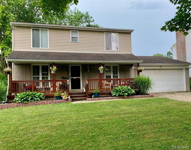 2439 Roanoke Dr Drive, Ypsilanti Twp, MI 48197 (#2210052498) :: Real Estate For A CAUSE