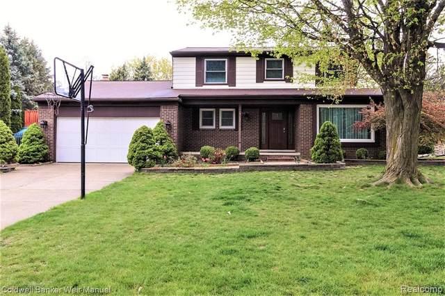 22350 North Hills Crt, Northville, MI 48167 (#2210052666) :: Duneske Real Estate Advisors