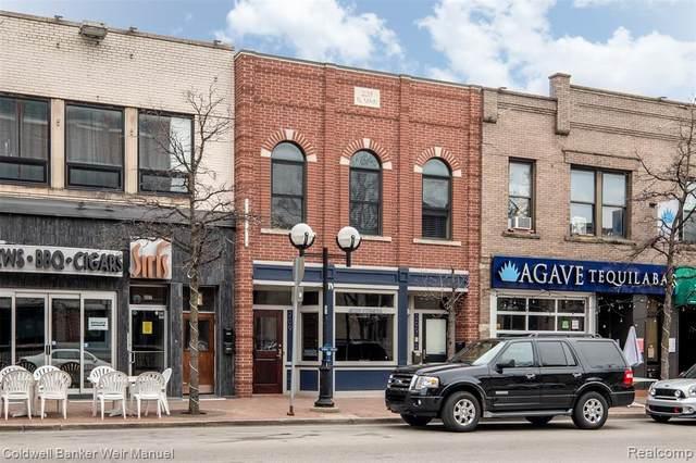 209 N Main Street #3, Ann Arbor, MI 48104 (#2210053702) :: Robert E Smith Realty