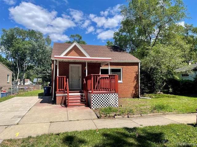 19460 Seminole, Redford Twp, MI 48240 (#2210054377) :: GK Real Estate Team