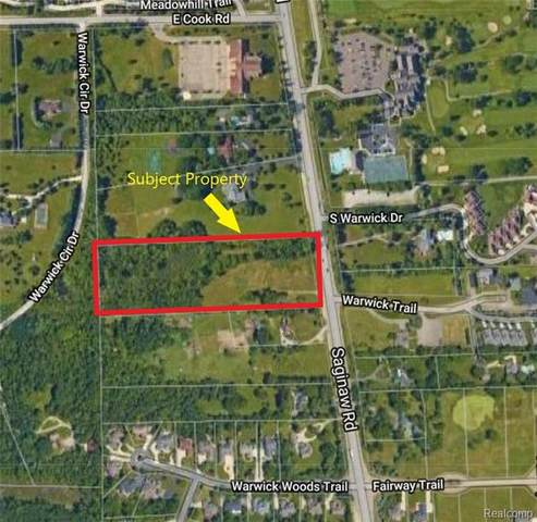 VL S Saginaw Street, Grand Blanc Twp, MI 48439 (#2210056547) :: Real Estate For A CAUSE