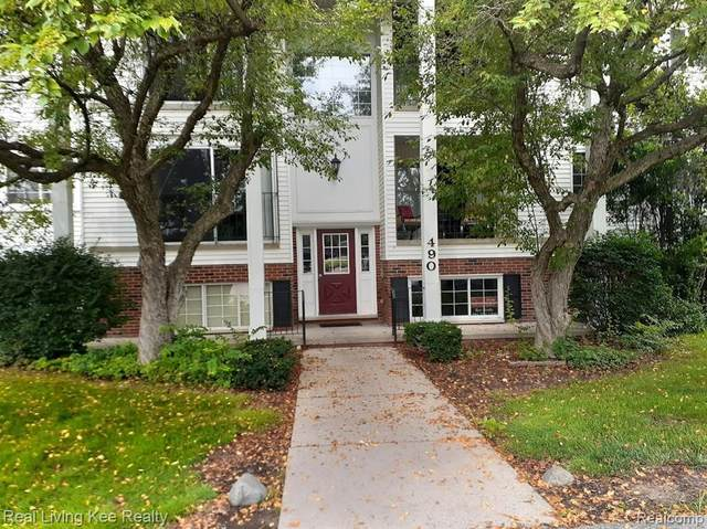 490 Baldwin Ave Apt 2 #2, Rochester, MI 48307 (#2210057223) :: The Alex Nugent Team | Real Estate One