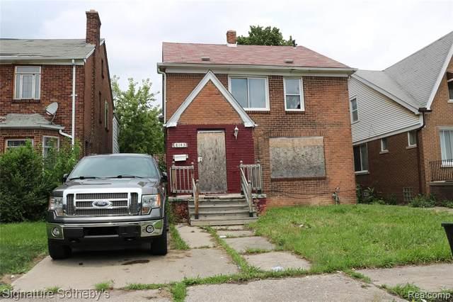 8143 Bliss Street, Detroit, MI 48234 (#2210057292) :: Duneske Real Estate Advisors