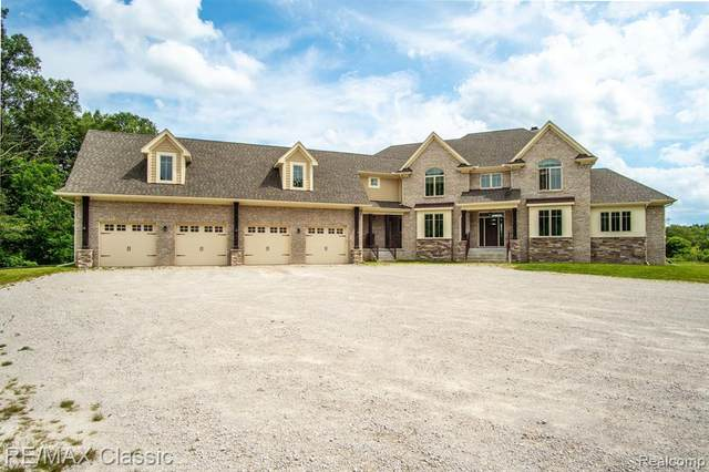 5440 N Latson Rd Road, Howell, MI 48855 (#2210057451) :: Real Estate For A CAUSE