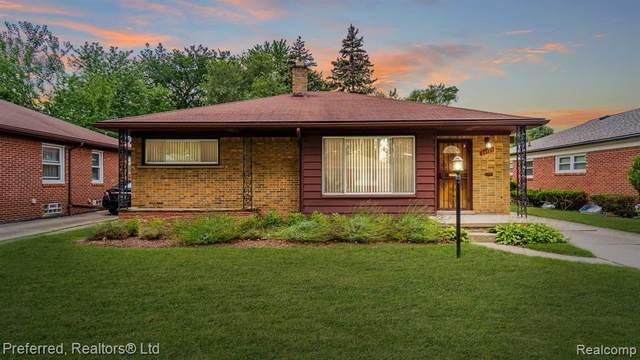 24121 Oneida Street, Oak Park, MI 48237 (#2210057708) :: GK Real Estate Team