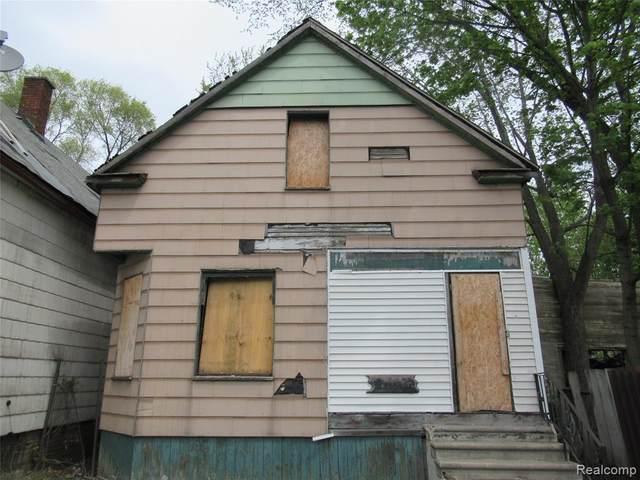 4656 Mitchell Street, Detroit, MI 48207 (#2210058238) :: BestMichiganHouses.com