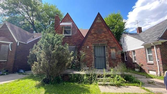 10811 Roxbury Street, Detroit, MI 48224 (#2210058464) :: Duneske Real Estate Advisors
