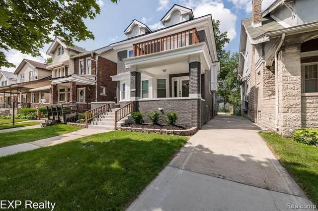 5053 Burns Street, Detroit, MI 48213 (#2210058517) :: BestMichiganHouses.com