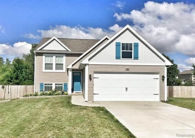 4460 Pebble Creek Boulevard, Burton, MI 48439 (#2210058560) :: Real Estate For A CAUSE