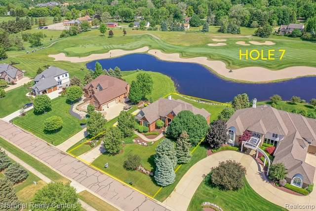 445 Nairn Circle, Highland Twp, MI 48357 (#2210058727) :: Real Estate For A CAUSE