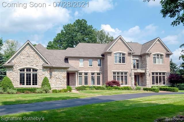 7907 Bridge Valley, Clarkston, MI 48348 (#2210058846) :: Real Estate For A CAUSE