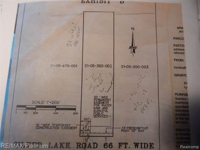 60750 Pontiac Trail, Lyon Twp, MI 48178 (#2210058953) :: The Vance Group | Keller Williams Domain