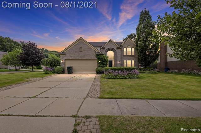 3209 Yellowstone Court, Orion Twp, MI 48360 (#2210059116) :: GK Real Estate Team