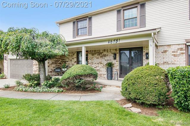 46781 Gulliver Drive, Shelby Twp, MI 48315 (#2210059999) :: The Alex Nugent Team   Real Estate One