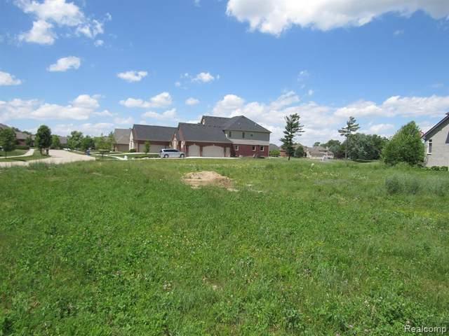 6489 Pond Dr Drive, Washington Twp, MI 48094 (#2210060160) :: The Alex Nugent Team   Real Estate One