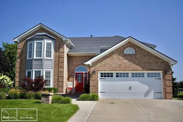 8215 Carole Ln, Washington Twp, MI 48094 (#58050049707) :: The Alex Nugent Team   Real Estate One