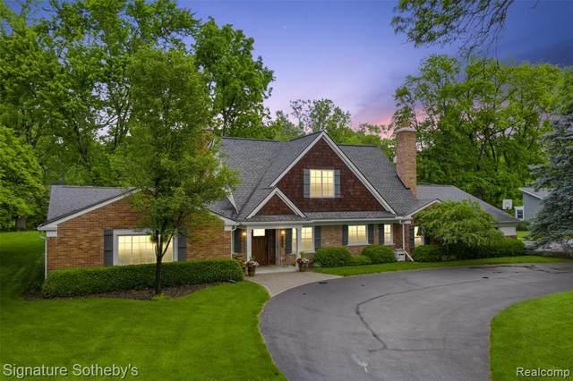 1760 Cedar Hill Drive, Bloomfield Twp, MI 48301 (#2210060642) :: Duneske Real Estate Advisors