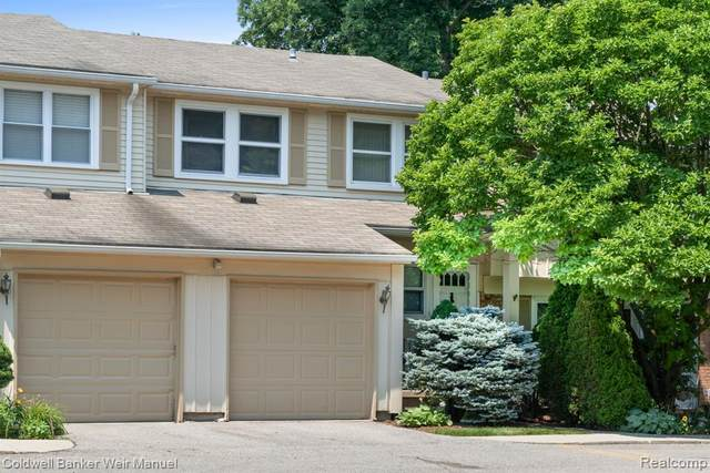 1582 Brentwood Drive #179, Troy, MI 48098 (#2210060749) :: The Alex Nugent Team | Real Estate One
