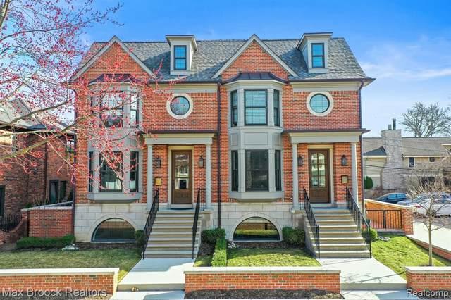 559 W Brown Street, Birmingham, MI 48009 (#2210060772) :: The Alex Nugent Team | Real Estate One
