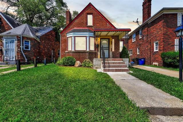 18261 Prairie Street, Detroit, MI 48221 (#2210061283) :: The Mulvihill Group