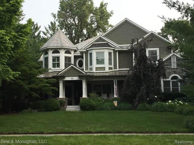 414 Mount Vernon Boulevard, Royal Oak, MI 48073 (#2210061319) :: The Vance Group | Keller Williams Domain
