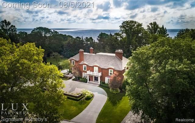 578 Shelden Road, Village of Grosse Pointe Shores, MI 48236 (#2210061545) :: GK Real Estate Team