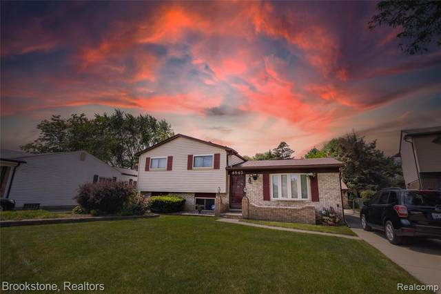 4845 Ocean Court, Sterling Heights, MI 48310 (#2210061571) :: The Mulvihill Group