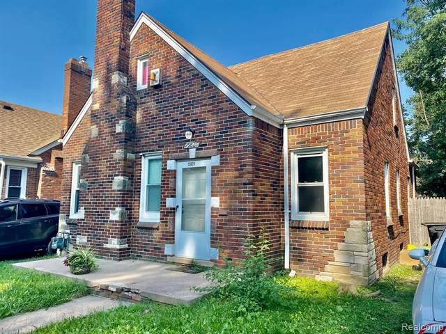 15820 Auburn Street, Detroit, MI 48223 (#2210061746) :: The Mulvihill Group