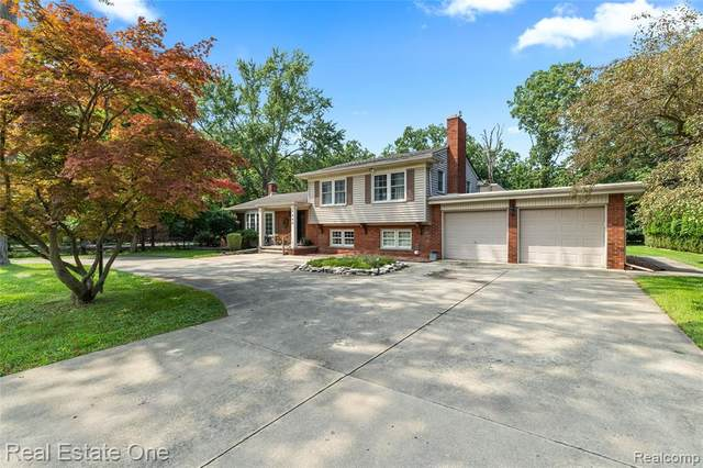 9640 Lakewood Drive, Grosse Ile Twp, MI 48138 (#2210061760) :: GK Real Estate Team