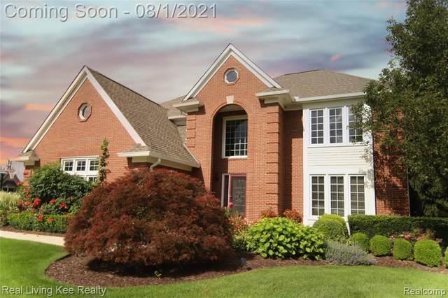 3950 Fieldview Road, Orion Twp, MI 48360 (#2210061982) :: GK Real Estate Team