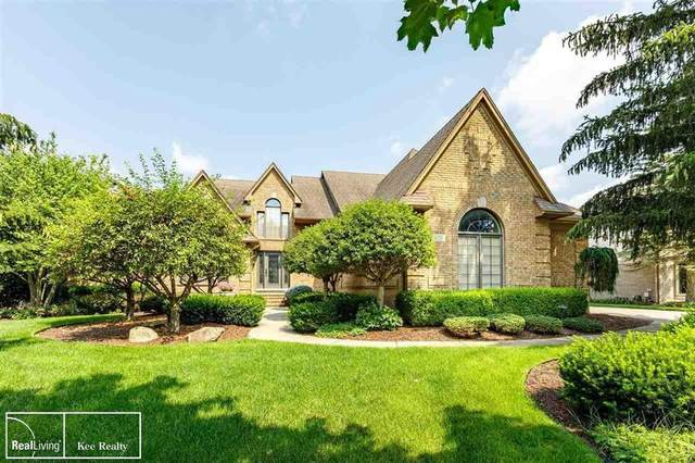 14531 Stratford Ct, Shelby Twp, MI 48315 (#58050050204) :: The Mulvihill Group