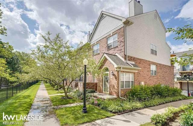 1930 Campau Farms Cir #102, Detroit, MI 48207 (#58050050338) :: Real Estate For A CAUSE