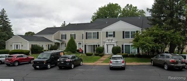 966 Bloomfield Village Blvd Apt A, Auburn Hills, MI 48326 (#2210063795) :: The Vance Group | Keller Williams Domain